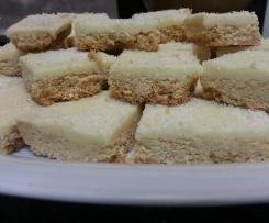 Creamy Coconut Slice