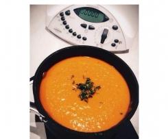 Sweet Potato, Leek, Carrot & Capsicum Soup