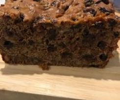 Gluten Free Spiced Fruit Loaf