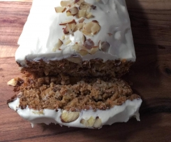 Annieb's Healthy Carrot Cake [no sugar or oil]