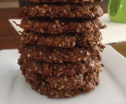 Anzac Biscuits (Gluten, Dairy and Refined Sugar Free)