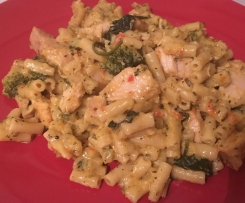 Creamy Chicken Vegetable Pasta