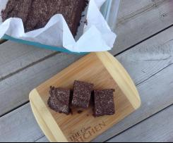 No Bake Fudge Brownie - Paleo, GF, Sugar Free, Grain Free