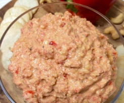 Red Capsicum with Feta and Cashew Chunky Dip - ThermoFun