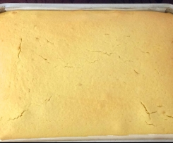 Basic Butter Cake Slab