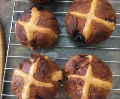 Glutton Free Hot Cross Muffin Breads