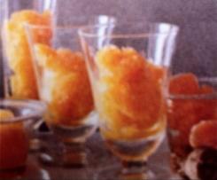 Tangerine Granita - Gluten Free
