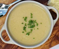 Creamy Celeriac and Parsnip Soup