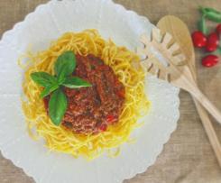 Sassy Spaghetti Bolognese