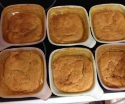 Gluten free Butterscotch self saucing pudding