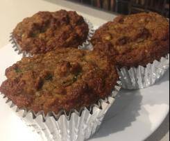 Banana & Zucchini Paleo Muffins