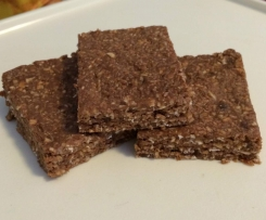 Healthy Choc-Coconut Slice