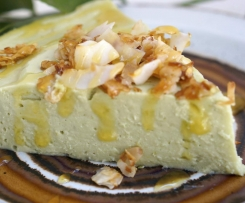 Key Lime Pie (GAPS, Paleo, Raw, Vegan option, Dairy/Gluten/Grain Free)