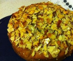 Moroccan Honey & Mint Syrup Cake