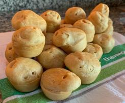 Vegan Brazilian 'No-Cheese' Puffs