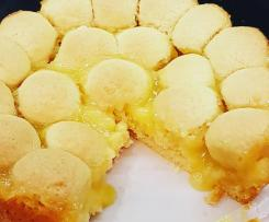 Tweaked version of Edna's Lemon Curd Teacake