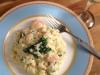 Creamy Prawn risotto