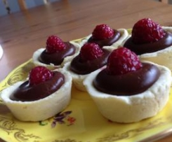 Petit Chocolat - Mini Chocolate Tarts - Gluten & Dairy Free