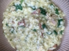Feta, Sun Dried Tomatoes, Chicken, & Spinach Risotto