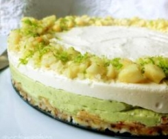 Raw Macadamia Lime Cheescake