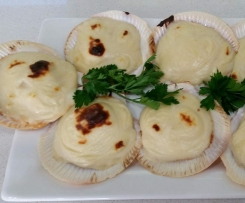 Bechamel Sauce - or Delicious white sauce with cheese & wine