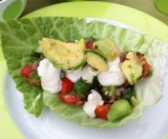 almost raw Vegan Tacos