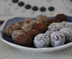 Fruit and Nut Chocolate Balls