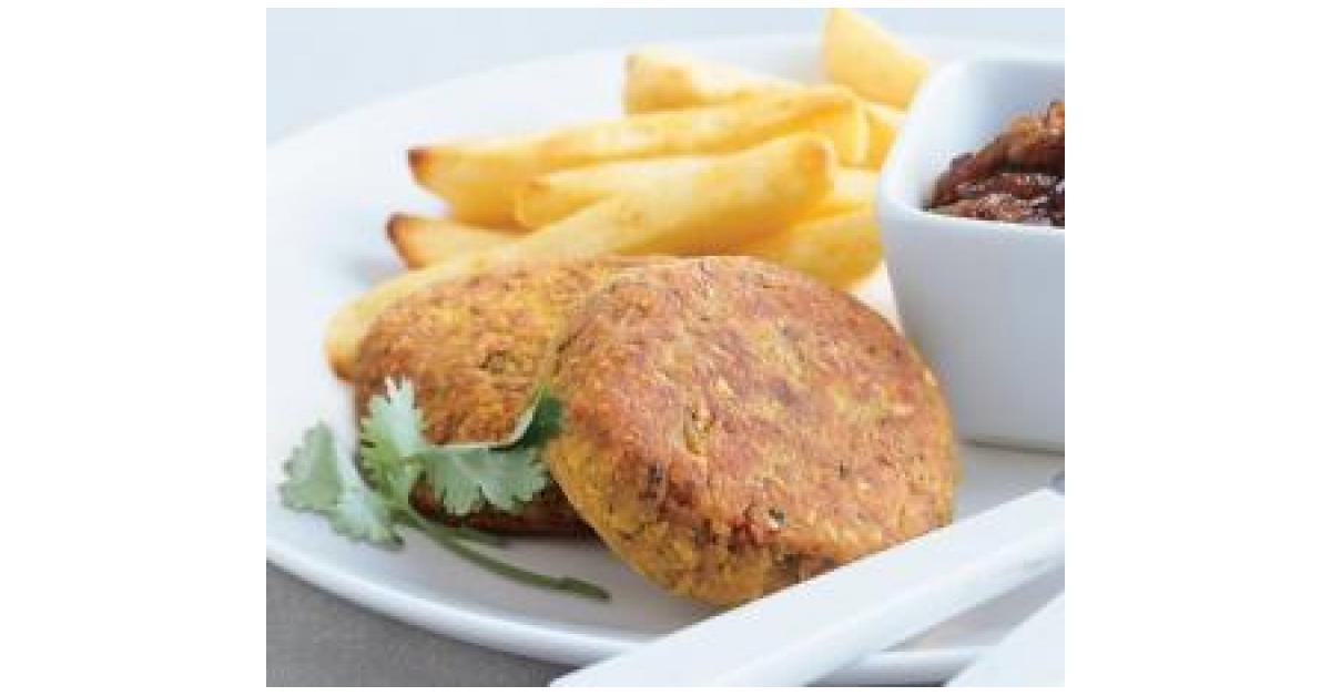 Lentil & Chickpea Burgers by Donna Bathy. A Thermomix ...