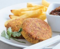 Lentil & Chickpea Burgers