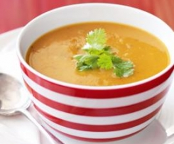 Thai Sweet Potato and Lentil Soup