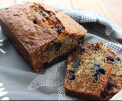 Banana, Blueberry & Almond Loaf