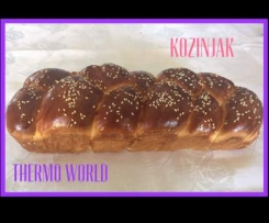 KOZINJAK - MACEDONIAN EASTER BREAD