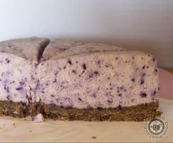 Blur Berries Cheesecake Clone of 'No-Bake' Strawberry White Chocolate Cheesecake