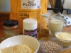 Lupin Flour and Atta Flour Bread