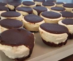 LCHF NO BAKE JAFFA CHEESECAKES