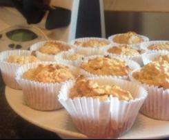 Apple, Cinnamon & Oat muffins