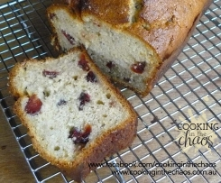 Banana Cranberry Loaf