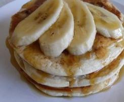 The best gluten free banana pancakes