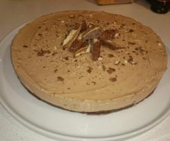 Twix & Baileys Cheesecake