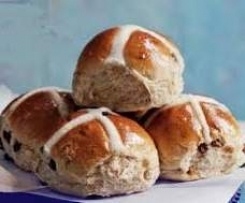 THE BEST FRUIT BUNS / HOT CROSS BUNS