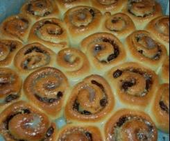 Chelsea Buns (cinnamon scrolls)