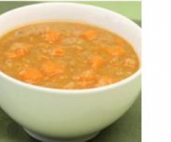 Red Lentil & Sweet Potato Hot Pot for Children & Babies