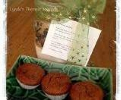 Christmas Muffins - gift in a jar