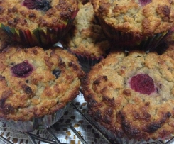 Pear and Berry Muffins