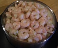 Kirrilee's Garlic Prawns