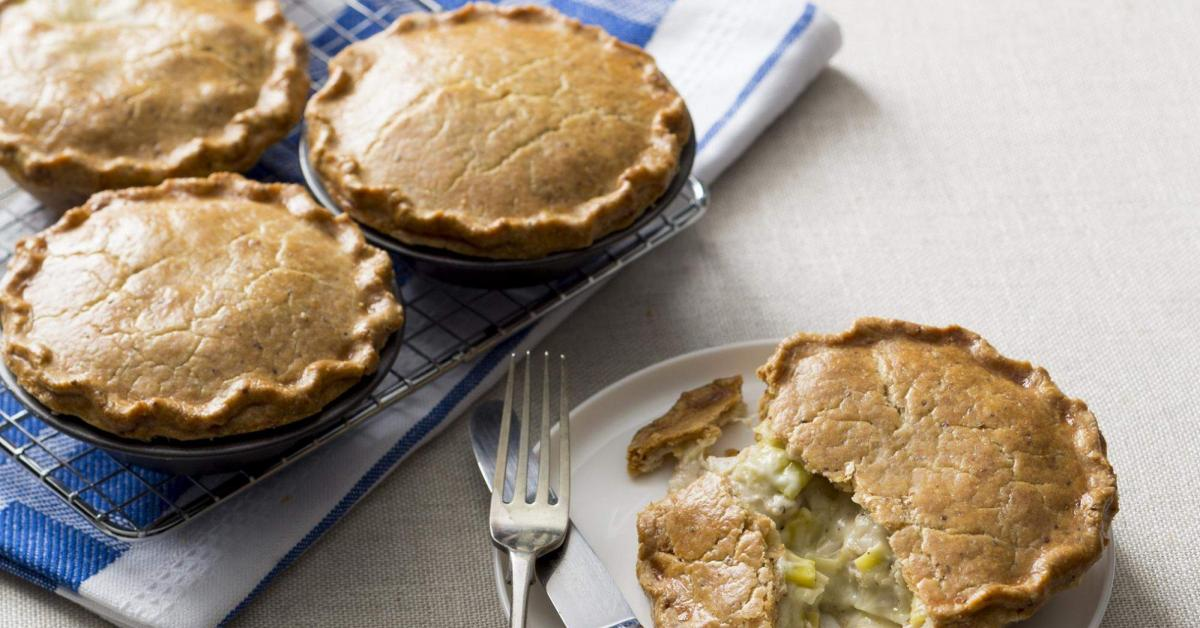 Chicken And Leek Pies By Thermomix In Australia On Www Recipecommunity Com Au