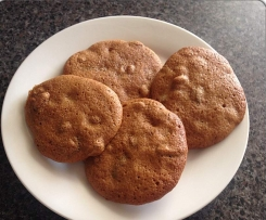 FODMAP Gingerbread and Cranberry Biscuits