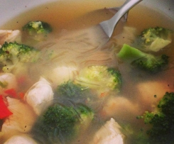 Chicken and Broccoli Broth - HCG compliant