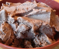 Healthy Chocolate and Banana Icecream