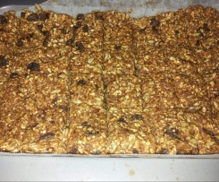 Raw Muesli Slice